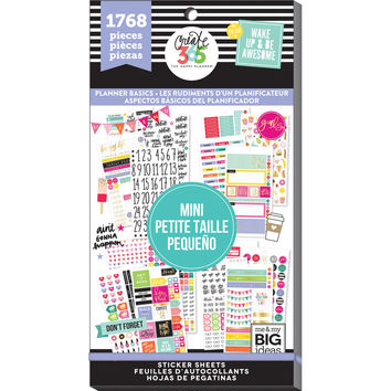 Create 365® The Happy Planner® Mini Sticker Sheets, Planner Basics