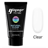 GenZ PolyGel Builder Nail Extension UV LED Poly Gel Natural Clear (2-4 Day Delivery)