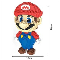 Super Mario Bros. Micro Blocks Mario, Large
