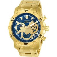Invicta Men's 22765 Pro Diver Quartz Multifunction Blue Dial Watch