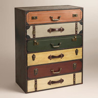 Trenton Suitcase Chest | World Market