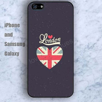 london heart colorful iPhone 5/5S case Ipod Silicone plastic Phone cover Waterproof