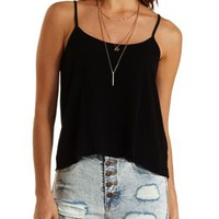 Caged Back Strappy Tank Top by Charlotte Russe