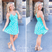 Mint Pineapple Dress