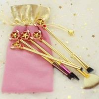 Cardcaptor Sakura Star Wand Brush Set