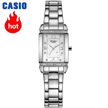 Casio watch Fritillaria diamond square plate SHN-4016D-1A SHN-4016D-7A