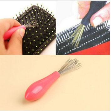 Comb Hair Brush Cleaner Cleaning Remover Embedded Plastic Comb Cleaner Tool(color random) = 1669382660