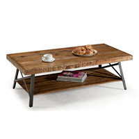 Emerald Chandler Reclaimed-look Wood Cocktail Table | Overstock.com Shopping - The Best Deals on Coffee, Sofa & End Tables