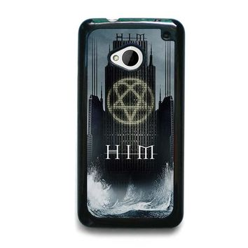 HIM BAND HEARTAGRAM HTC One M7 Case Cover
