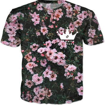 Common Culture Pink Flower T-Shirt
