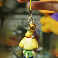 Isabelle / Shizue Phone Charm // Animal Crossing New Leaf