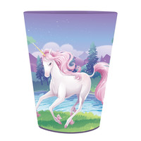 Unicorn Fantasy 16 Oz Plastic Keepsake Cup/Case of 12