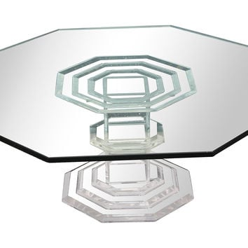 Mid-Century Modern Lucite Coffee Table