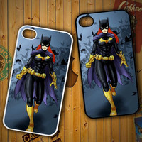 batgirl cartoon Z0485 LG G2 G3, Nexus 4 5, Xperia Z2, iPhone 4S 5S 5C 6 6 Plus, iPod 4 5 Case