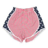 Gingham Stars and Stripes Shorties – Lauren James Co.