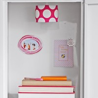 Pink Dottie Pendant Locker Light
