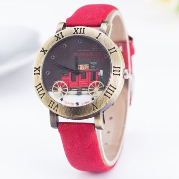 Vintage Carriage Watch with Gift Box