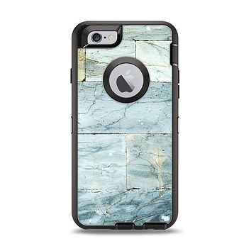 The Blue Marble Layered Bricks Apple iPhone 6 Otterbox Defender Case Skin Set