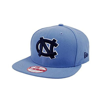 NEW ERA 9fifty College Basketball UNC Hat Snapback Sport Blue Adjustable Cap