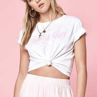 Lottie Moss Tie Front T-Shirt at PacSun.com