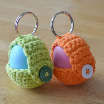 Crochet Pattern - Keychain EOS Lip Balm Holder