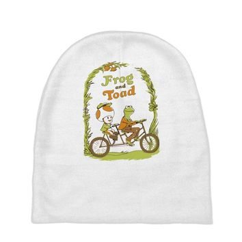frog & toad Baby Beanies