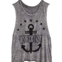 California Anchor Tank - Grey