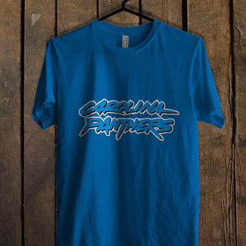 carolina panthers Blue For Mens T Shirt and Womens T Shirt *76*