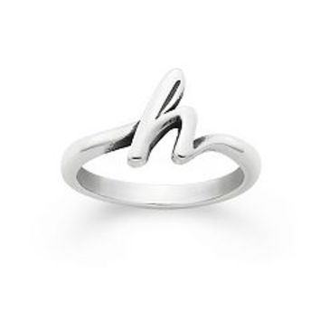 Script Initial Ring | James Avery