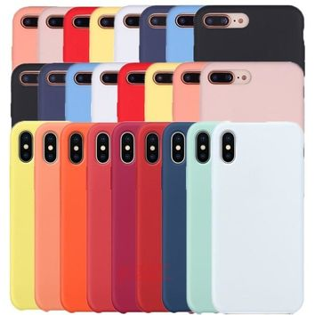 Cutiecare Silicone Case For Apple iPhone