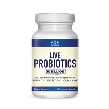 Dr. Axe- LIVE PROBIOTIC-Best For Boosted Immune System, Improved Digestion &...