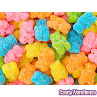Beeps Bright Gummy Bears: 4.5LB Bag