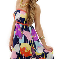 Garden Party Dress :: NEW ARRIVALS :: The Blue Door Boutique