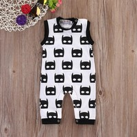 Infant Boy Batman Sleeveless Romper