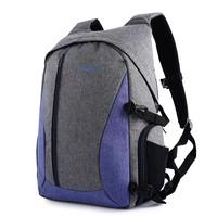 Waterproof Digital DSLR Photo Padded Backpack Multi-functional Camera Bag for Outdoor Traveling 3 Colors