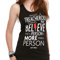 Paper Towns Treacherous Girls Tank Top