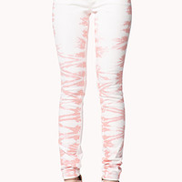 Life In Progress™ Tie-Dye Skinny Jeans