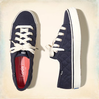 Hollister + Keds Quilted Double Up Sneakers