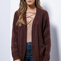 LA Hearts Vertical Stitch Dolman Sleeve Cardigan at PacSun.com