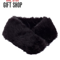 Shoes | Boutiques | Convertible Faux Fur Headband Scarf | Lord and Taylor