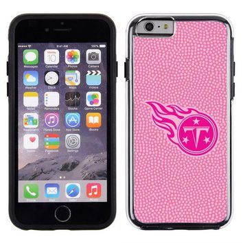 Tennessee Titans Pink NFL Football Pebble Grain Feel IPhone 6 Case