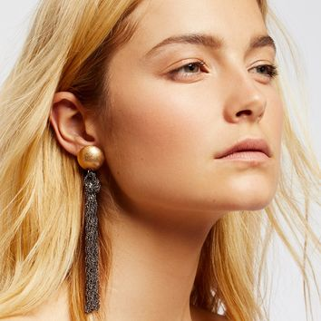 Free People Downtown Tassel Earrings