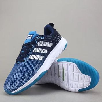 Trendsetter Adidas Neo Cloudfoam Super Flex Women Men Fashion Sneakers Sport Shoes