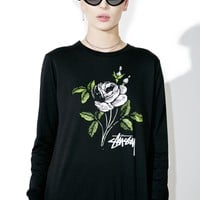 Rose Classic Long Sleeve Tee