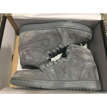 aj1 Air Jordan 1 Wool Men Sneaker
