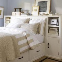 Stratton Smart Technology? Headboard | Pottery Barn