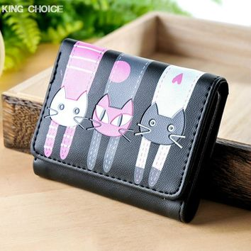 High quality Brand Cat Wallet - PU Soft Leather
