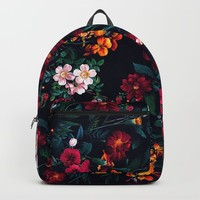 The Midnight Garden Backpack by rizapeker