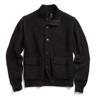 McKinnick Sweater Jacket in Black