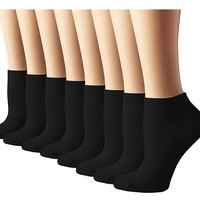 Women's Athletic No Show Running Socks 8 Pack
